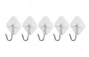 Gancho Adesivo para Utensílios com 5 Unidades
