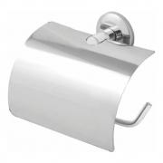 Porta Papel Higienico Alumínio com Tampa