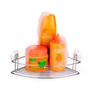 Porta Shampoo Cantoneira Cristal