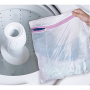 Saco para Lavar Roupas com Ziper Pequeno