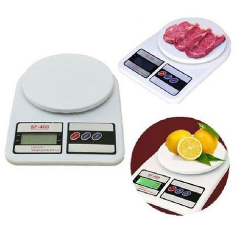 Balança Digital para Cozinha - Até 10 Kg