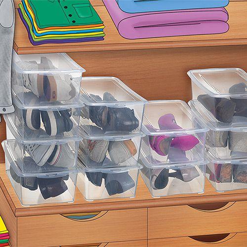 Caixa para Sapatos - para 5 Pares - Arthi