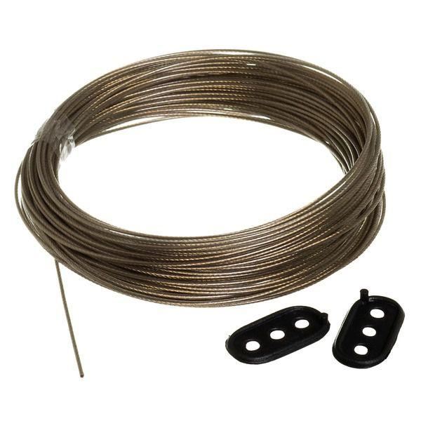 Corda de Aço para Varal com 20 metros