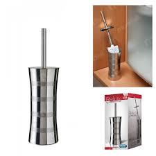 Escova Sanitária com Suporte Inox