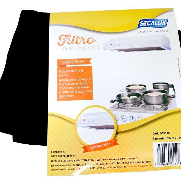 Filtro para Exaustor - Universal - Secalux