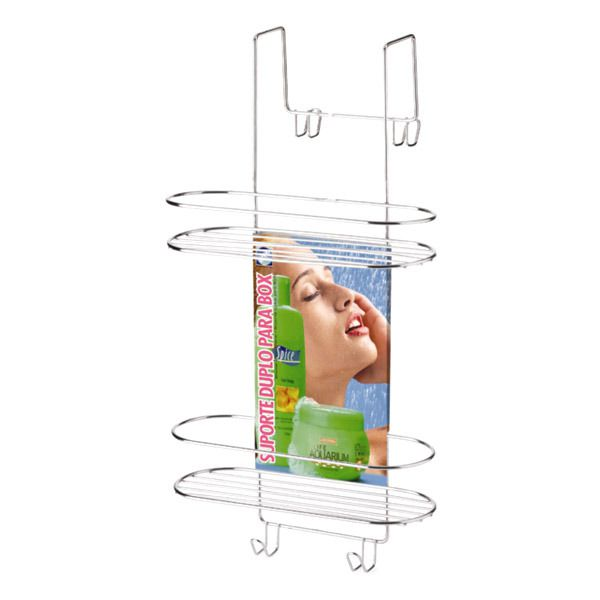 Porta Shampoo Cromado para Pendurar - Arthi