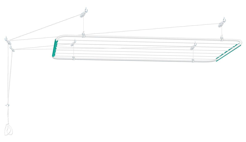 Varal de Teto Mônaco em Aço 1,4m x 56cm