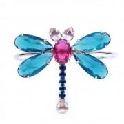 Bracelete libélula, família céu de borboletas