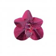 Porta guardanapo orquídea pintado a mão, coleção germinar