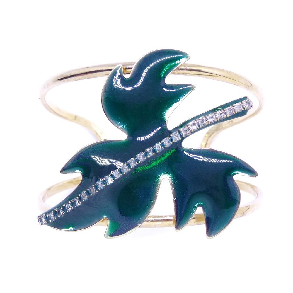 Bracelete parreira esmaltado