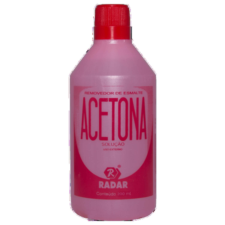 Acetona 200ml - Radar