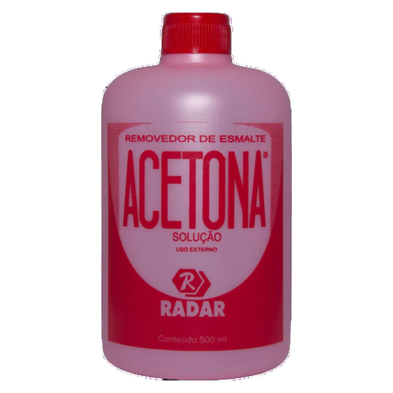 Acetona 500ml - Radar