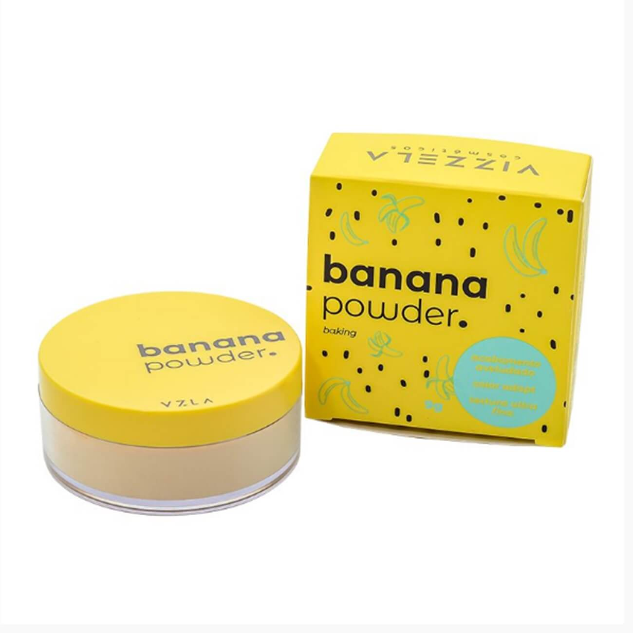 Banana Powder 9g - Vizzela Cosméticos