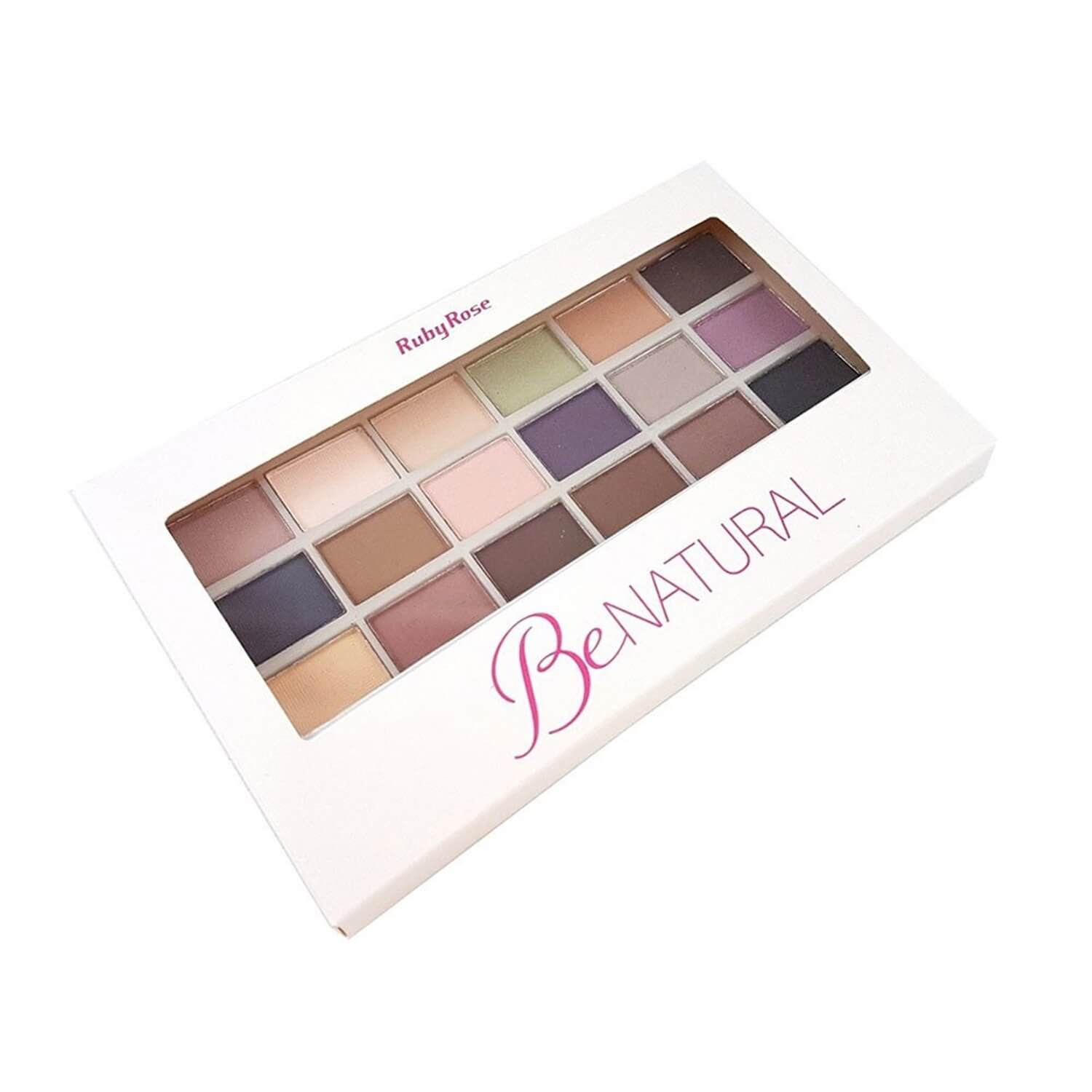 Paleta de sombras BeNatural - Ruby Rose
