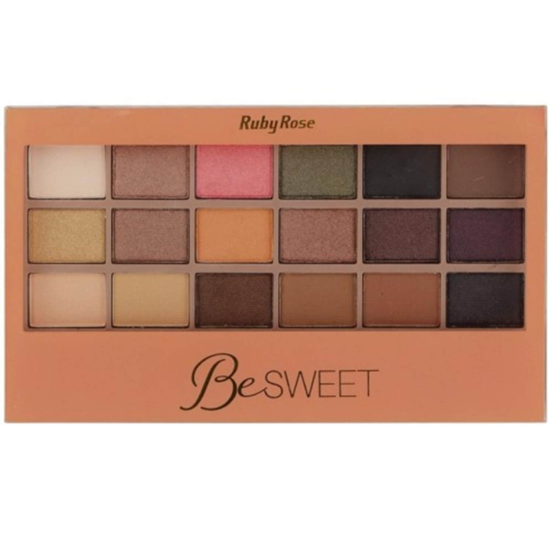 Paleta de sombras BeSweet - Ruby Rose