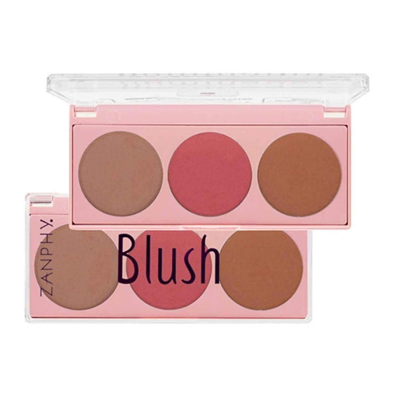 Paleta de Blush - Zanphy