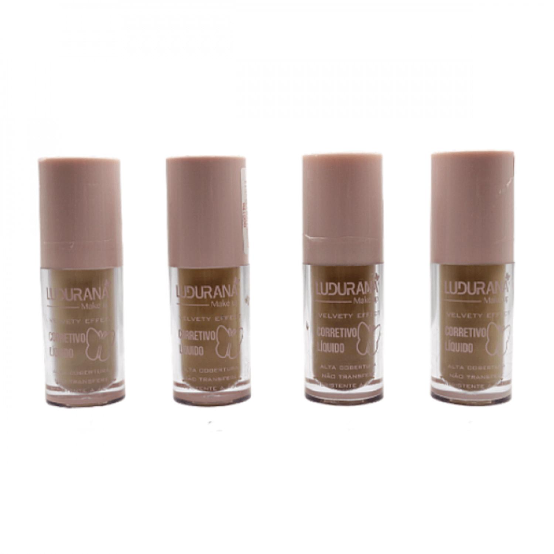 Corretivo Líquido Velvety Effect - Ludurana Make up