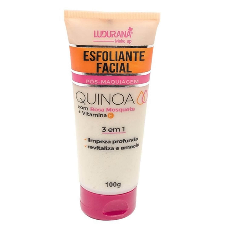Esfoliante Facial Pós Maquiagem - Ludurana