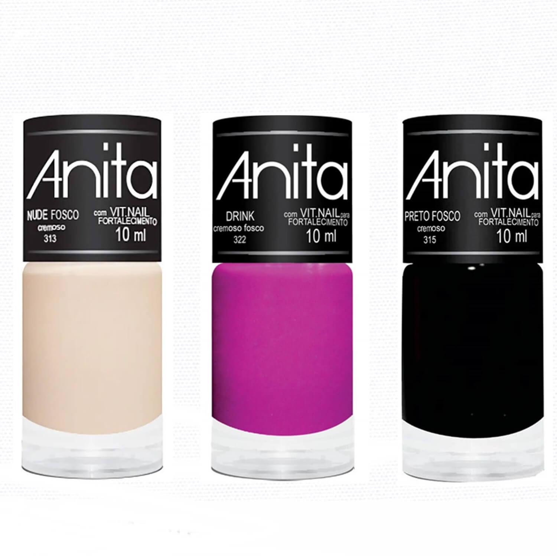 Esmalte Coleção Cremoso Fosco 10ml - Anita