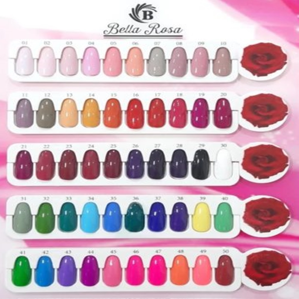 Esmalte Gel Polish Colour A - Bella Rosa  - 10ml