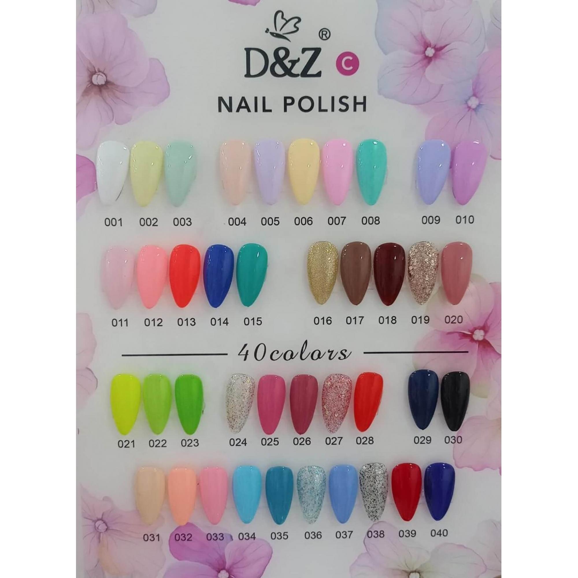 Esmalte Gel Polish Colour Coat C - D&Z  - 7,5ml