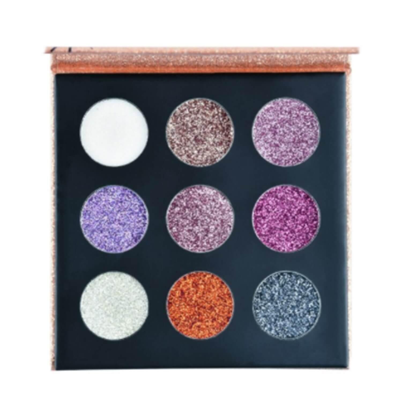 Paleta de Sombras Glitter Cremoso Shine B - Ruby Rose