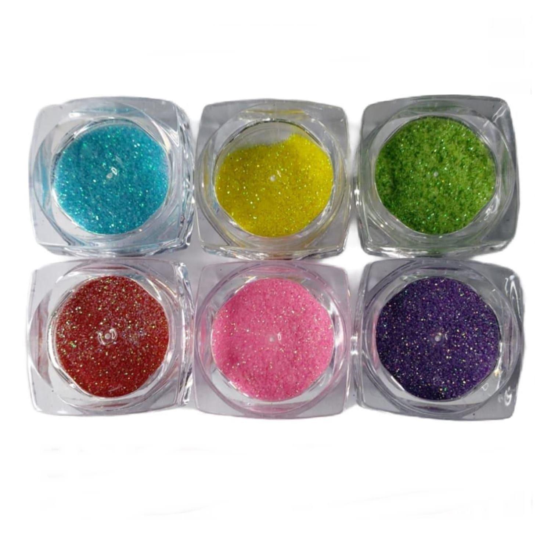 Kit 6 Glitter Fino