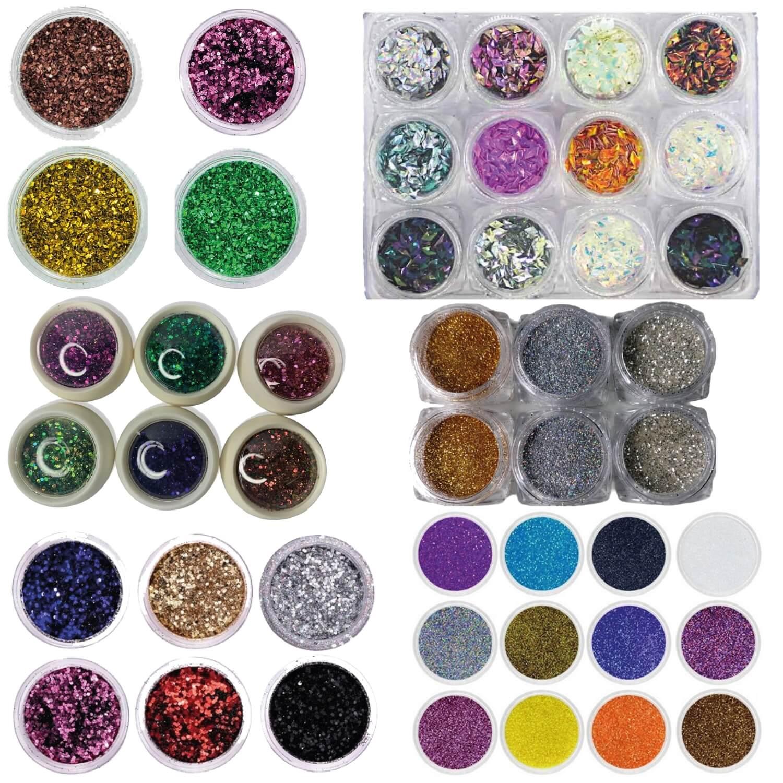 Kit Glitter Unha Completo  - A