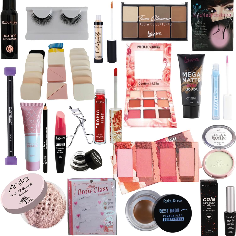 Kit Maquiagem Completo - A
