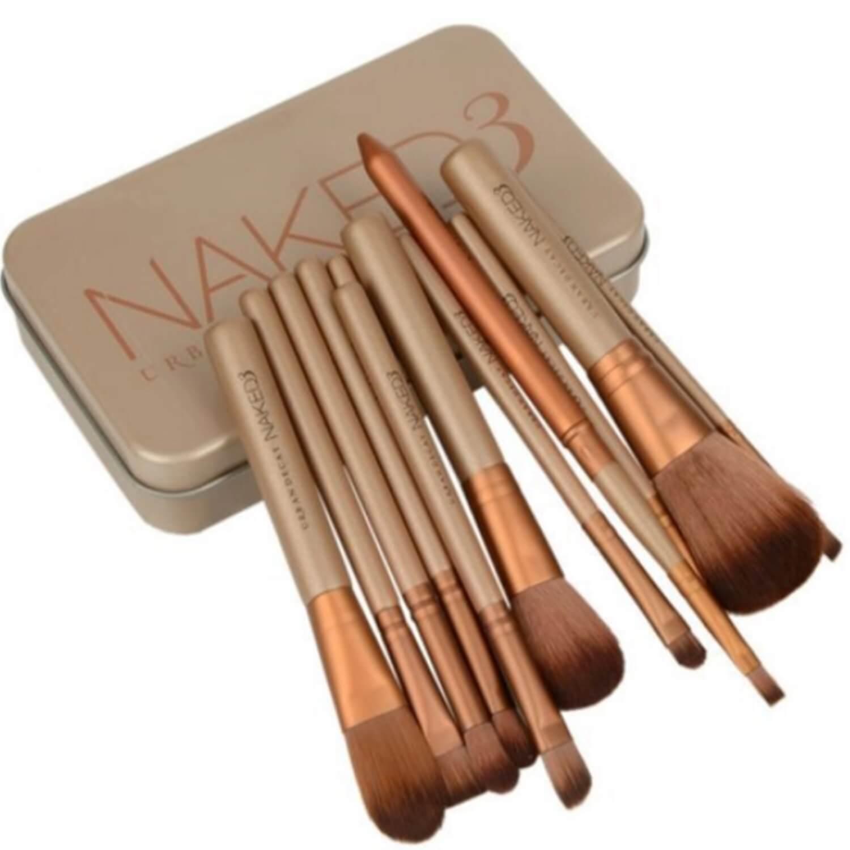 Kit Pincel - Naked 3