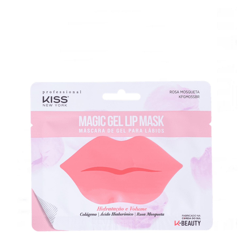 Máscara De Gel Para Lábios Colágeno - Kiss New York