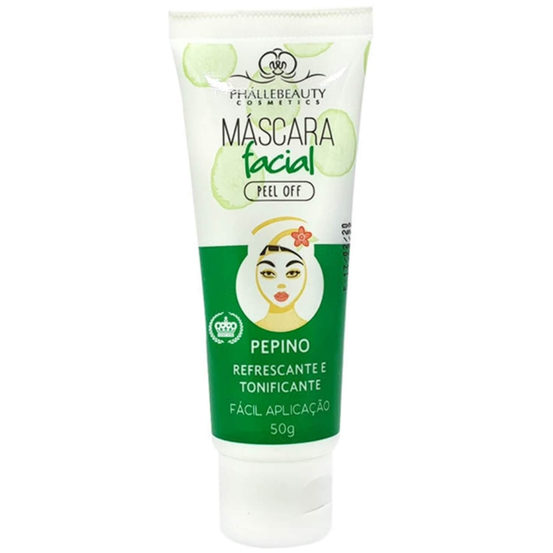 Máscara Facial Peel Off Pepino - Phállebeauty