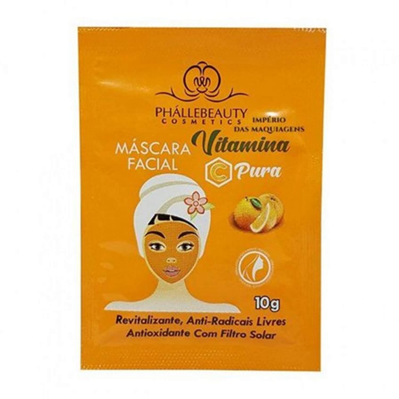 Máscara Facial Vitamina C Sachê - Phállebeauty