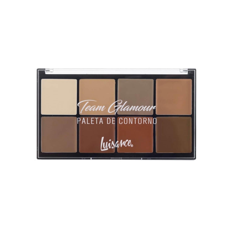 Paleta de Contorno Team Glamour - Luisance