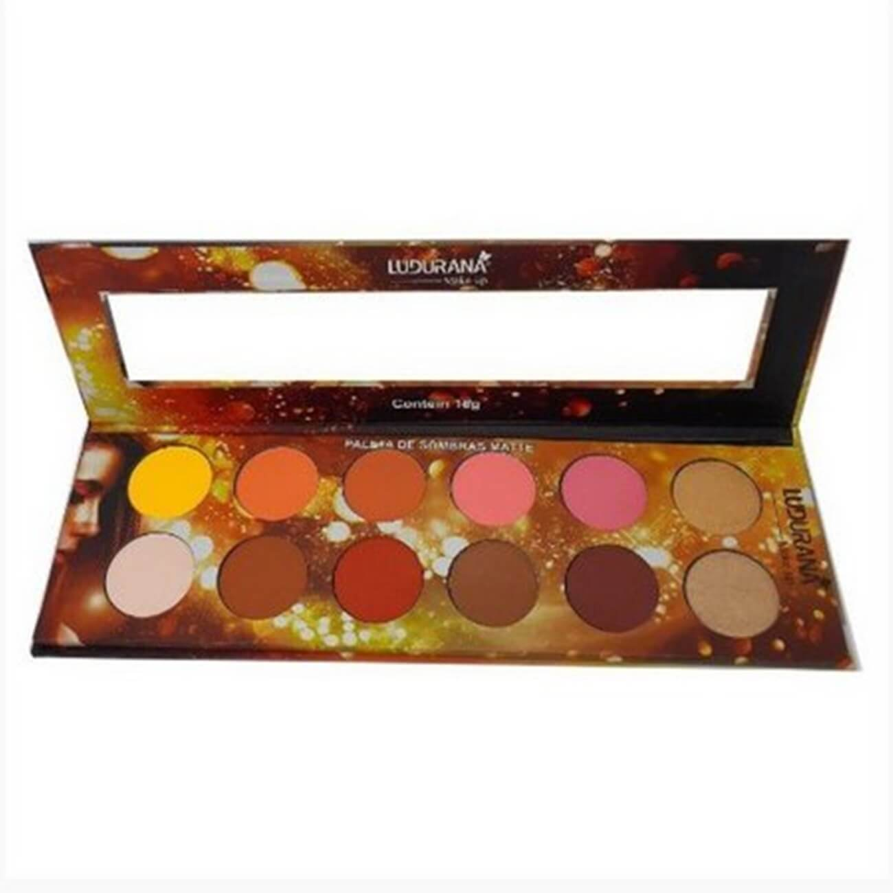 Paleta de Sombras Matte - Ludurana Make Up