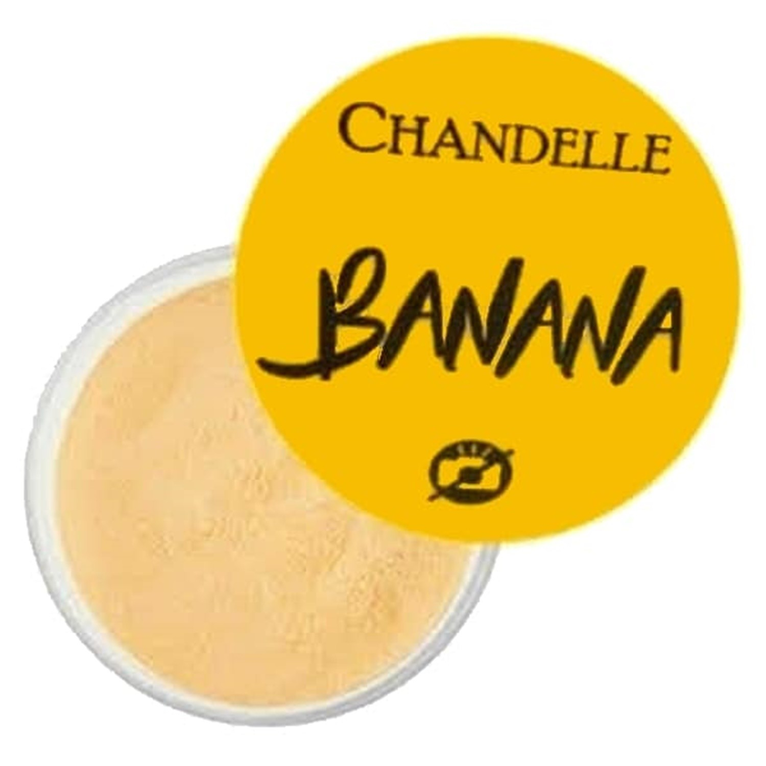 Pó Facial Banana - Chandelle