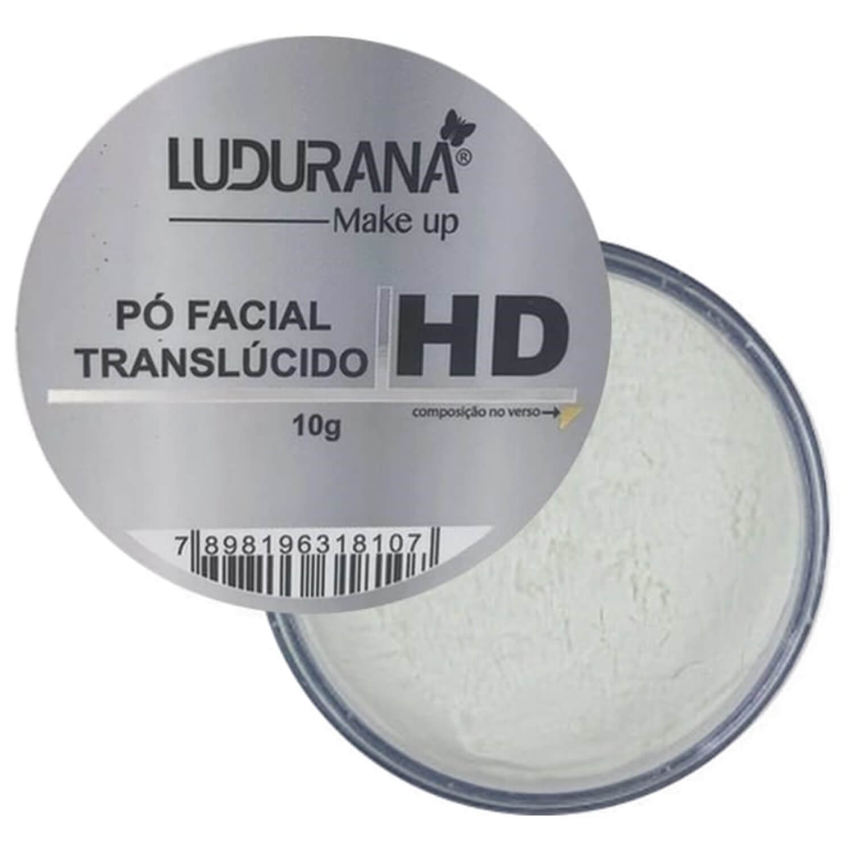 Pó Facial Translúcido HD - Ludurana Make up