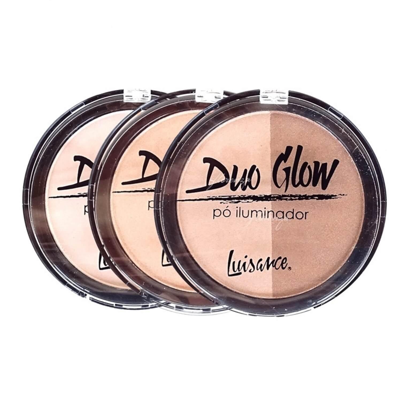 Pó Iluminador Duo Glow - Luisance
