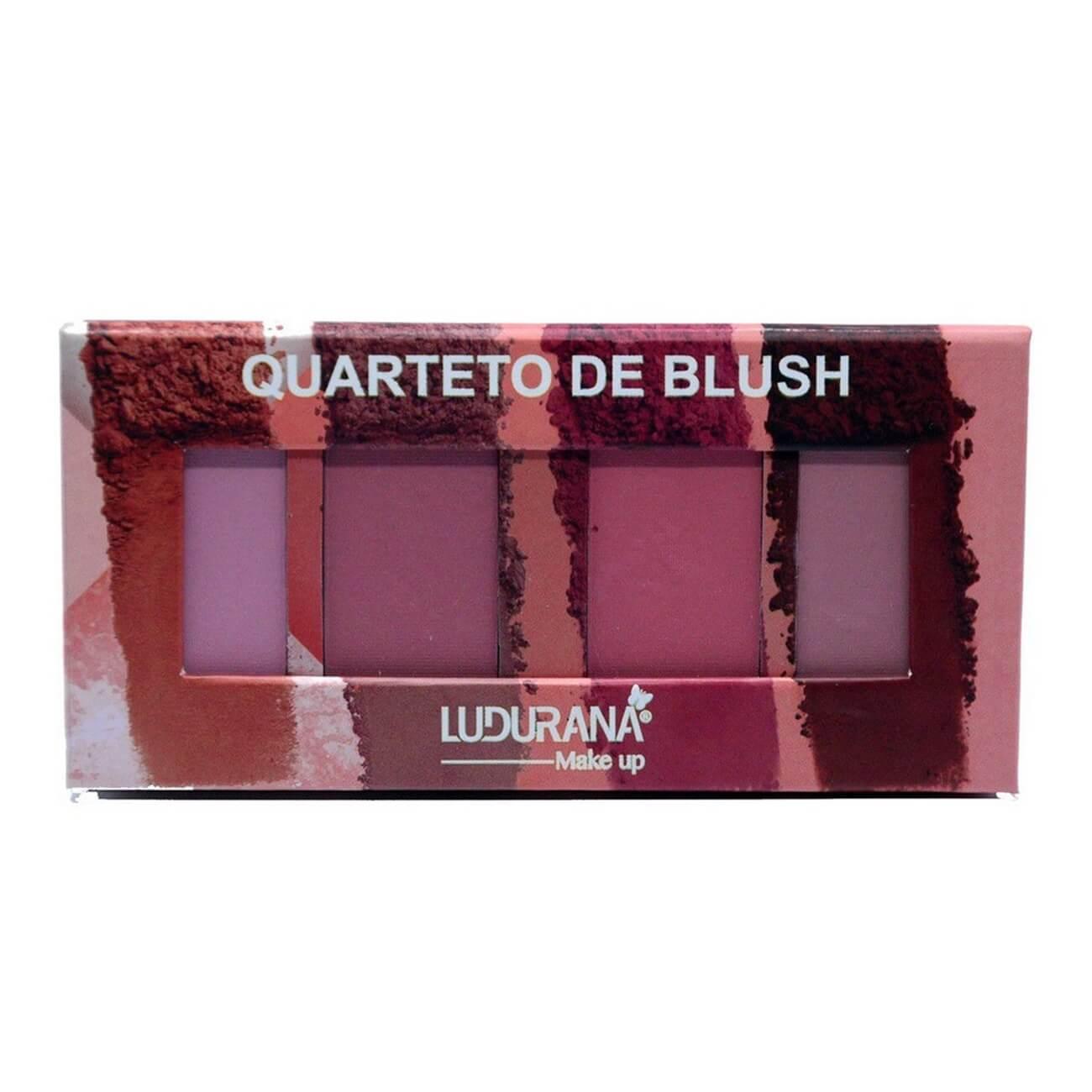 Quarteto de Blush - Ludurana Make up