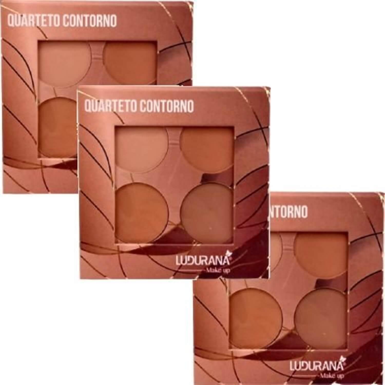 Quarteto De Contorno - Ludurana Makeup