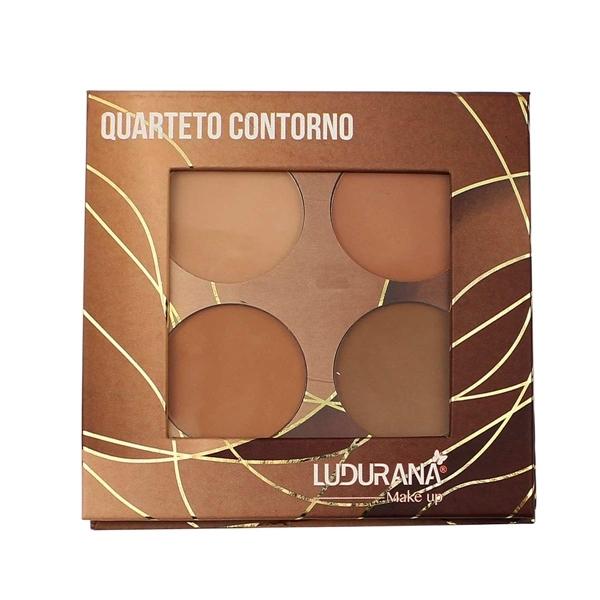 Quarteto De Contorno Quadrado - Ludurana Makeup