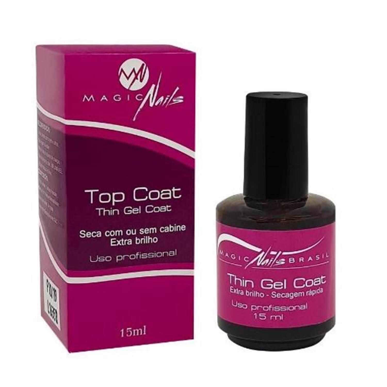 Top Coat Thin Gel Coat - Magic Nails