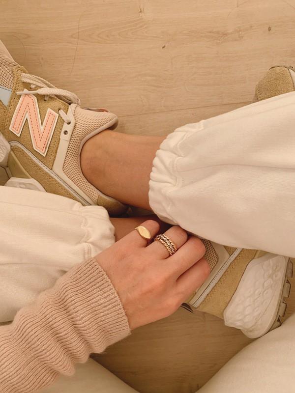 Anel Vintage Dourado