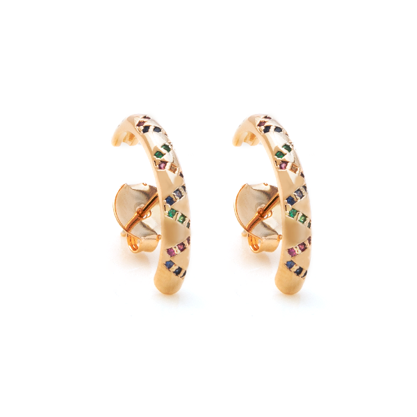 Earhook Nix Color Dourado