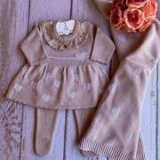 Saída de Maternidade Amore - Rosê