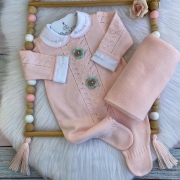 Saída de Maternidade Florescer  - Rosa