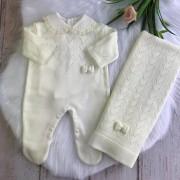 Saída de Maternidade Isabella - Off White