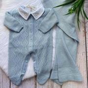 Saída de Maternidade Matheus - Azul