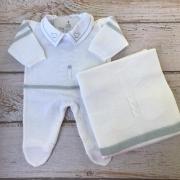 Saída de Maternidade Ursinho da Mamãe - Branco (40% OFF)