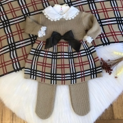 Saída de Maternidade Vestido burberry